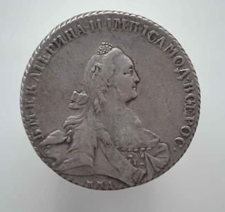 1 рубль 1768 года ММД-EI