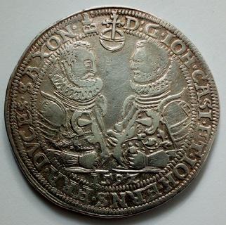Талер 1597 г. Саксен - Кобург - Эйзенах