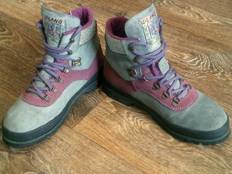 Olang (Италия) - фирменные ботинки походные разм.40