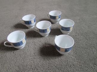 Фарфоровые чашки Германия.
