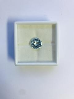 Аквамарин голубой природный Бразилия 8,40 карата