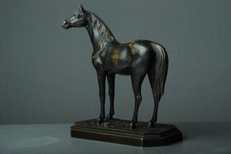 Бронзовая статуэтка Е.А.Лансере.1848-1886гг. (Жеребец)