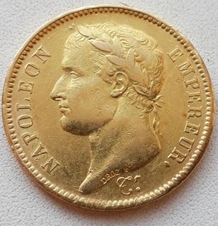 40 Франков Наполеон Бонапарт 1811 г.