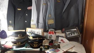 Мини музей- Генерал Головченко Г.И. Начальник ЮЖД (с наградными знаками)