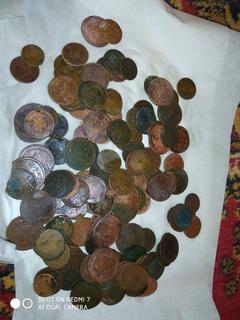Лот царских монет разных периодов