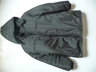 Мужской удлиненный зимний пуховик-куртка 60-62