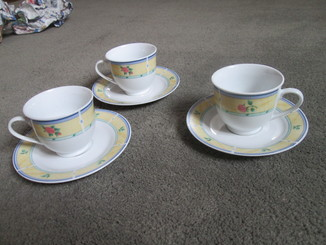 Три чайные пары Франция.