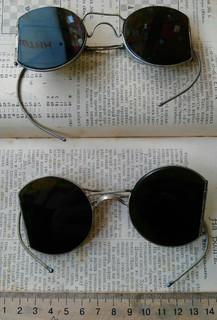 Старинные защитные очки 2 шт.