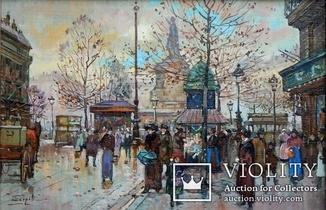 """''Будний день в Париже"""",20х30"""