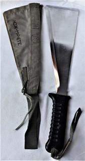 Нож - Мачете, ВВС СССР, №389 2014, из НАЗ - 7М, 1980е гг, в родной заточке, чехле