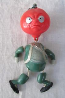 Кукла целлулоид- Синьор Помидор. Чипполино.