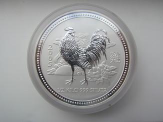 Монета Австралия 15$ 0.5 кг серебра 999
