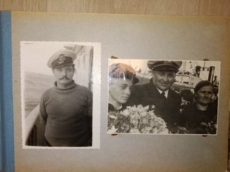 1946-47 Альбом 121 фото китобойная флотилия Слава Одесса