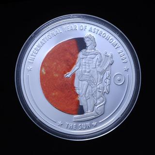 5 Долларов 2009 Солнце Всемирный Год Астрономии, Острова Кука