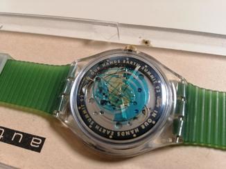 Часы Swatch Автомат Earth Sammit 92 лимитированная серия, новые в ориг. коробке.