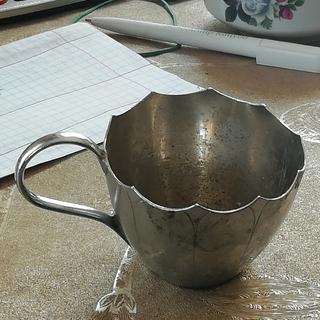 Чашка. Серебро.