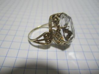 Кольцо Серебряное 875 звезда