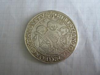 Талер Три Брата Саксония 1599 год.