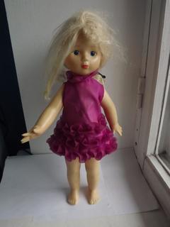 Кукла на резинках, паричковая.