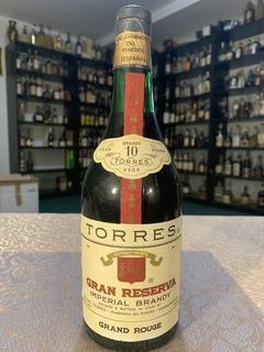 Хересный бренди Torres 10 Y.O. 1960-е. 0.7 л.
