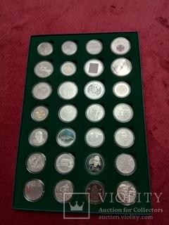 Годовой набор памятных и юбилейных монет Украины 2018 с упаковкой
