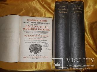 1725 Толкование на Евангелие от Иоаннав 3 томах