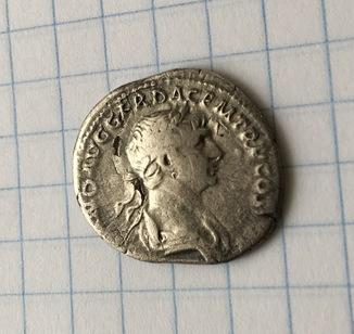 Денарій Імператора Трояна ( Колона)