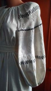 Старинная украинская вышиванка.(Сумщина)