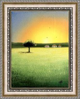 Картина Спогади та мрії, 15х20см. Живопис на полотні.