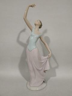 """Статуэтка """"Танец окончен """" Nao Lladro .Испания .33 см. В оригинальнойй упаковке ."""