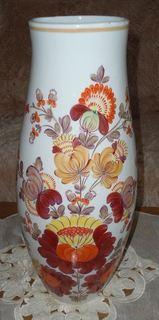Большая ваза Киев. Ручная роспись
