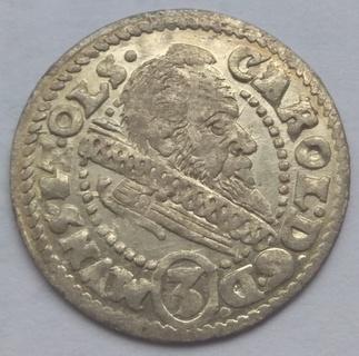 3 крейцера 1612 года