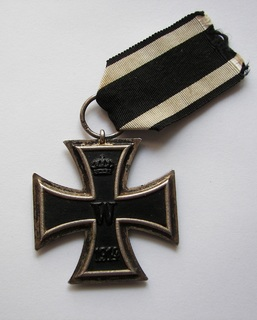 Железный Крест II класса ПМВ, клеймо SW