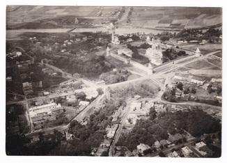 Панорама Зарайского кремля.Школа первоначального обучения полетам.
