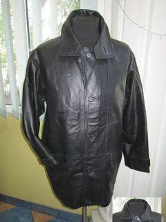 Большая кожаная мужская куртка М.FLUES. Германия. Лот 537