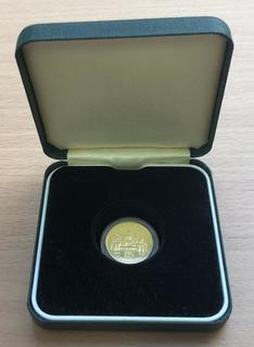 125 гривень 1996 рік. Оранта. Золото 7,78 грам. Банківський стан