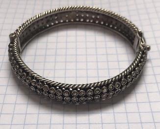 Старый серебряный браслет