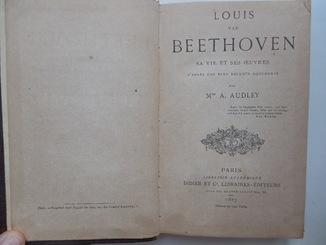 книга Бетховен 1867 год