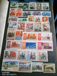 Альбом с негашенными марками СССР
