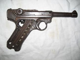 ММГ  пистолета  Люгер Р08.