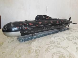 Сувенир, модель атомной подводной лодки, СССР