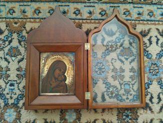 Касперовская икона Божей Матери.  Серебро.