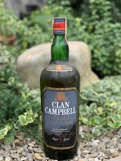 Whisky Clan Campbell 5 1970s