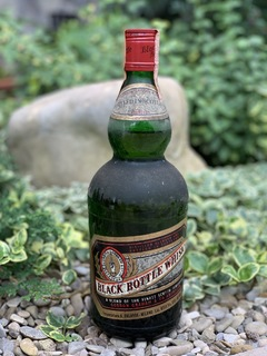 Whisky Black Bottle 1970s