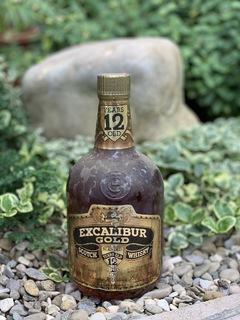 Whisky Excalibur Gold 12 1970s