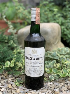 Whisky Black & White 1970s
