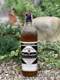 Whisky Oldfields blue label 5 1980s