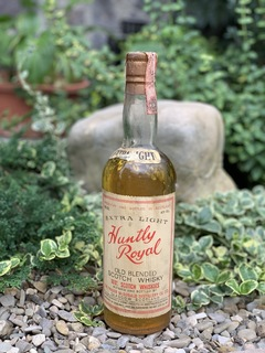 Whisky Huntly Royal extra light 1960s