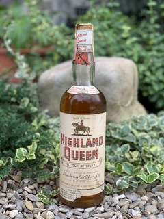 Whisky Highland Queen 1960s