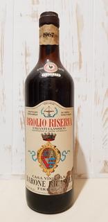 1967 Brolio  Riserva Chianti Classico  Alc.13   lt.0.720